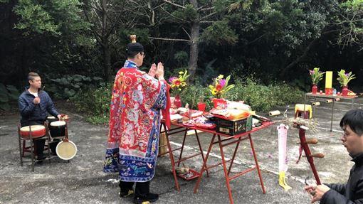 新北,北海岸,送肉粽,除煞,儀式