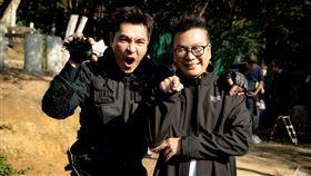 沈玉琳主持的《玉琳哥!來代班》到王傳一主演的電視劇《美味滿閣》探班(圖/東森提供)