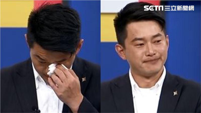 陳柏惟又哭了!見罷韓遊行感動 再批:遮羞布遮你韓國瑜