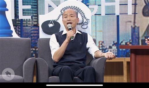 博恩,韓國瑜,(圖/擷取自博恩夜夜秀YouTube「STR Network」頻道,版權歸薩泰爾娛樂所有)