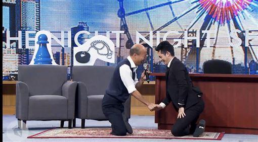 博恩,韓國瑜,(圖/翻攝自STR Network YouTube)