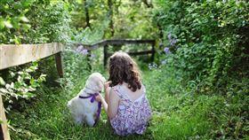 狗狗,愛犬,女孩,主人(圖/翻攝自pixabay)
