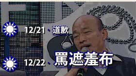 韓國瑜,道歉 圖/翻攝自台灣基進臉書
