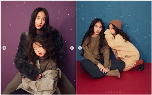 小S女兒二女兒Lily 和許老三(翻攝IG)