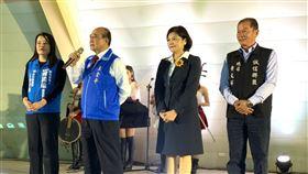王金平出席「國民黨立委候選人張嘉郡宗教後援會成立」,王辦提供