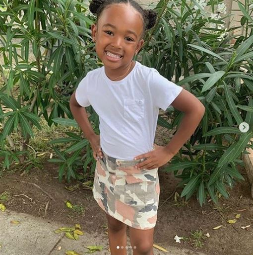 NBA/詹皇愛女開節目…她剛滿5歲NBA,洛杉磯湖人,LeBron James,Zhuri Nova James,節目翻攝自IG zhurinovajames