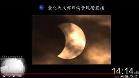 日偏食(台北市立天文館)
