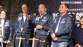 ▲總統候選人韓國瑜出席重返國際舞台青創座談。(圖/記者林恩如攝影)