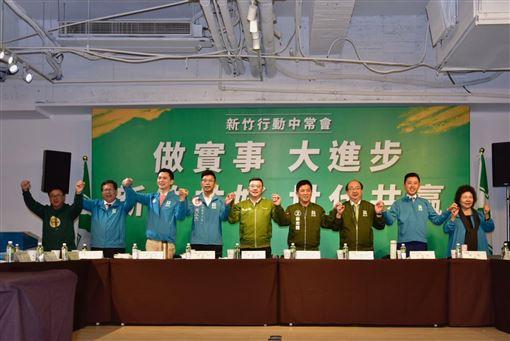 民進黨中常會26日到新竹市舉行。(圖/民進黨提供)