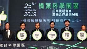 高雄橋頭科學園區啟動招商,打造台灣投資新紀元(圖/行政院)