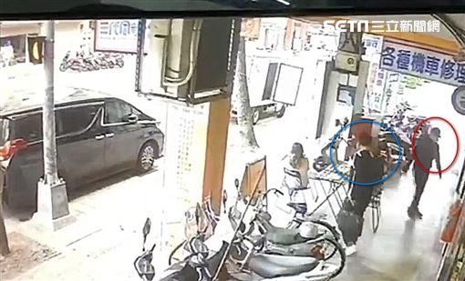 槍擊,大哥,槍手,台北,翻攝畫面