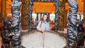 五路財神廟,廟宇,拜拜。(圖/新北市觀光旅遊局提供)