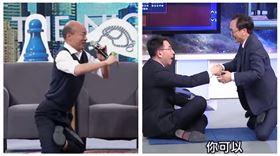 ▲韓國瑜、劉寶傑與吳子嘉(組合圖,翻攝YouTube)