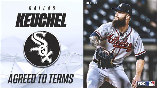 ▲白襪簽下凱戈(Dallas Keuchel)。(圖/翻攝自FOX Sports: MLB推特)