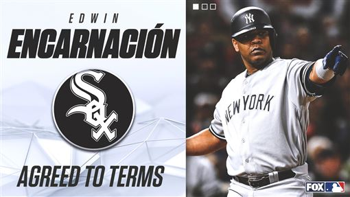 ▲白襪簽下恩卡納西翁(Edwin Encarnacion)。(圖/翻攝自FOX Sports: MLB推特)