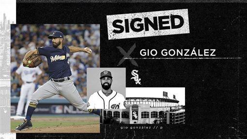 ▲白襪簽下岡薩雷茲(Gio Gonzalez)。(圖/翻攝自推特)
