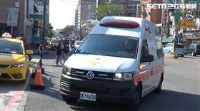 圍牆倒塌意外,救護車,工地