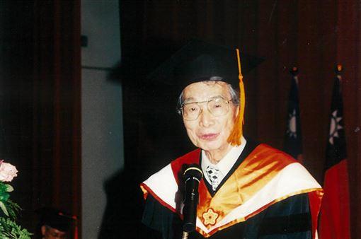 中央大學名譽博士,馮元楨,高齡辭世,生物力學之父,卓越貢獻(圖/中央大學提供)中央社
