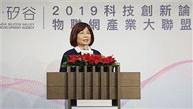 國發會,陳美伶,健全創業生態系2.0,三方向,扶植新創(圖/中央社)