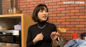 余筱萍談余苑綺病情。圖/記者方佳琳攝影