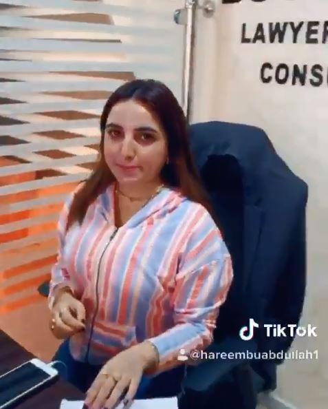 巴基斯坦一名叫Hareem Shah(何琳莎哈) 圖/IG 推特