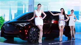 ▲FINE-Comfort Ride ConceptAI自動駕駛的氫燃料電池概念車。。(圖/邱榮吉攝影)