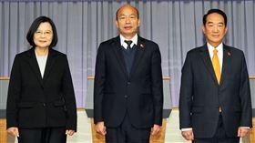 中選會提供,總統政見會第三輪,蔡英文韓國瑜宋楚瑜