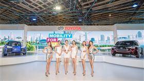 2020世界新車大展TOYOTA開展記者會