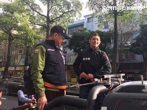 卓榮泰,吳怡農, 記者李依璇攝影