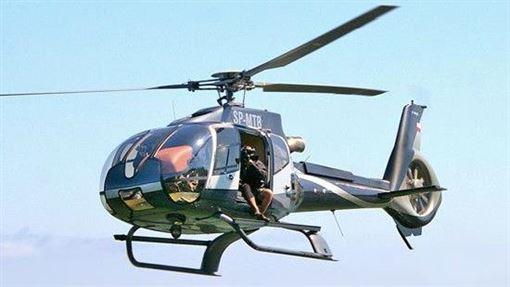 Eurocopter EC130直升機。(圖/翻攝維基百科)