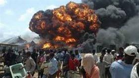 索馬利亞,摩加迪休,汽車炸彈攻擊(圖/翻攝自推特)