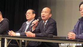 韓國瑜,辯論會後(圖/記者林恩如攝影)
