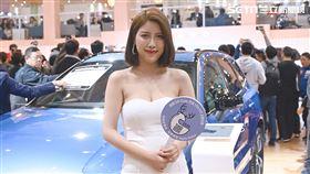 ▲2020世界新車大展VOLVO展館。(圖/鍾釗榛攝影)