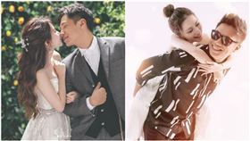黑男,婚紗,結婚,交往,女友(圖/翻攝自lucylu_8619 IG
