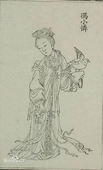 ▲馮小憐(圖/翻攝自百度百科)
