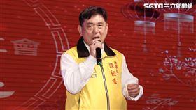 康凱,張善政,吳敦義。圖/記者林聖凱攝影