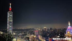 台北101,信義區,跨年。(圖/記者馮珮汶攝)