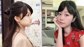 高嘉瑜與日本模特兒Masyuro撞臉。