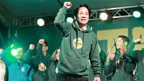 民進黨舉辦下架吳斯懷造勢晚會。(賴清德)(圖/記者林士傑攝影)