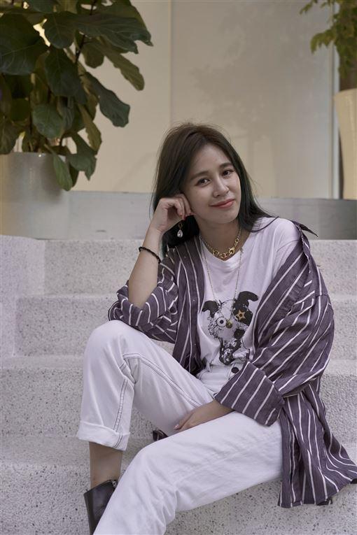 陳筱蕾,女星得腦瘤,面癱(記者郭奕均攝影)