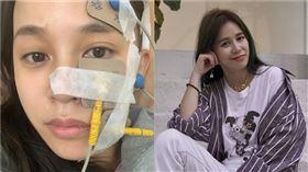 陳筱蕾,女星得腦瘤,面癱