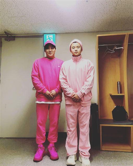 爸爸我們去哪裡,星二代,尹敏洙,尹厚 韓網 IG