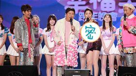 (左起)浩子 胡瓜 白家綺 阿翔 (圖/民視提供)