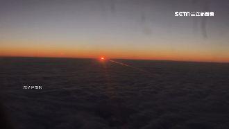 航空公司推專機 乘客飛上雲端賞曙光