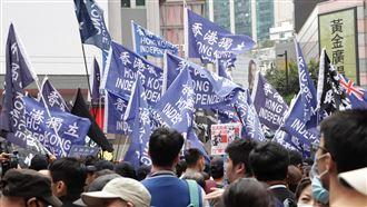 反送中集會遭腰斬 香港警民再爆衝突