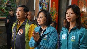 蔡總統5度為洪慈庸站台 呼籲民眾要去