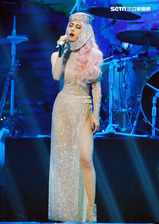 Jolin蔡依林全新巡演「Ugly Beauty 」台北站第三場。(記者邱榮吉/攝影)