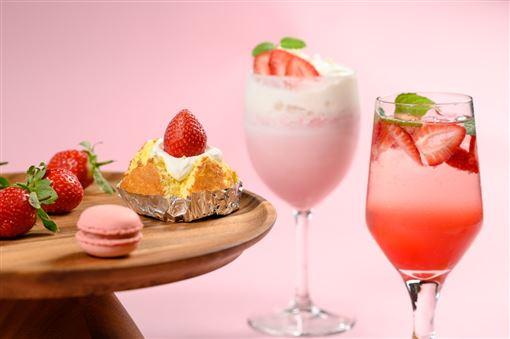 ▲草莓甜點(圖/新竹豐邑喜來登大飯店提供)