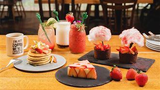 吃了「莓 」!飯店草莓季甜點登場囉