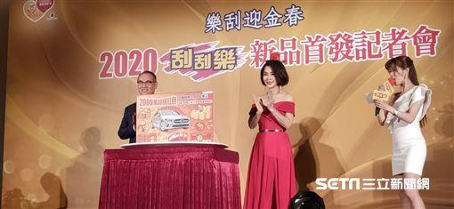 ▲台灣運彩總經理蔡國基與陳美鳳。(圖/記者林辰彥攝影)